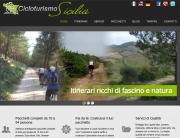 Cicloturismo Sicilia, sito web