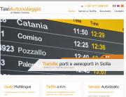 Taxi Autonoleggio Modica, sito web